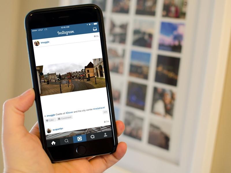 instagram private account
